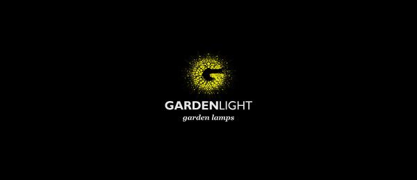 letter g logo design garden light