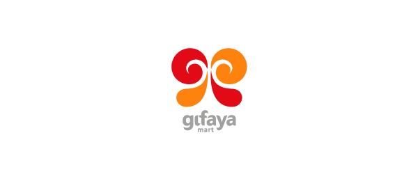 letter g logo design gifaya mart
