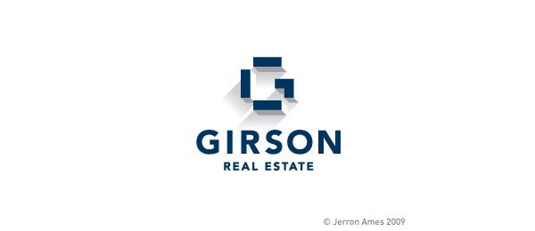 letter g logo design girson