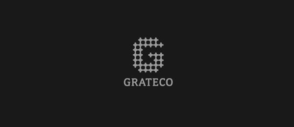 letter g logo design grateco