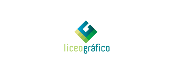 letter g logo design liceo grafico