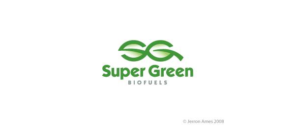 letter g logo design superg