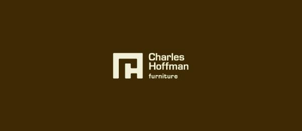 letter h logo design charles hoffman
