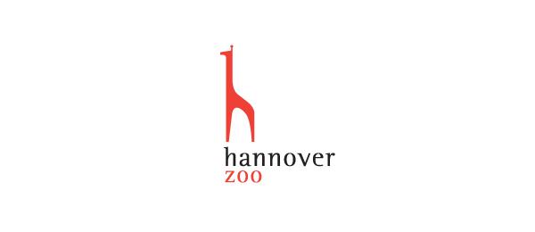 letter h logo design hannover zoo