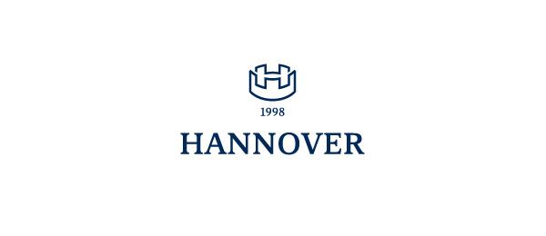 letter h logo design hannover