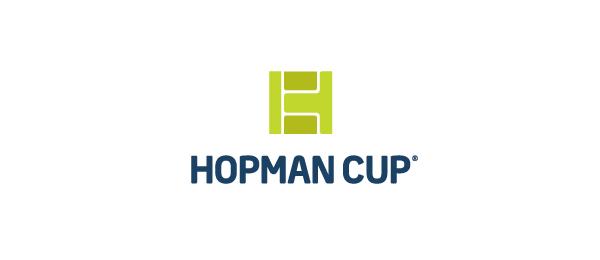 letter h logo design hopman cup