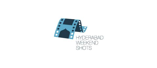 letter h logo design hyderabad weekend shots