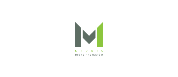 M Logo Design letter m logo design m studio