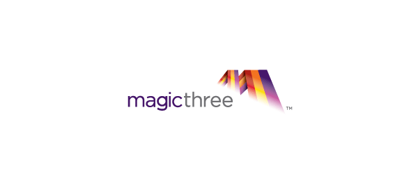 letter m logo design magicthree