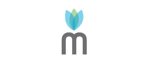 letter m logo design maitland primrose group