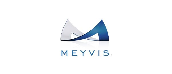 M Logo Design letter m logo design meyvis5