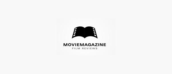 letter m logo design movie magazine