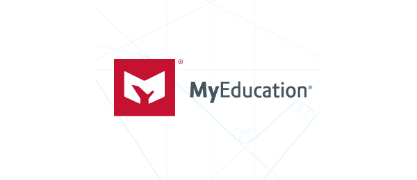 letter m logo design my education