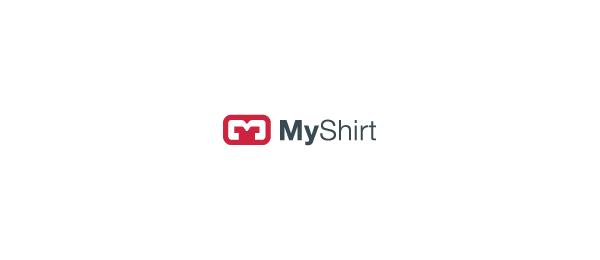letter m logo design my shirt