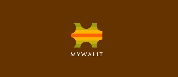 letter m logo design mywalit