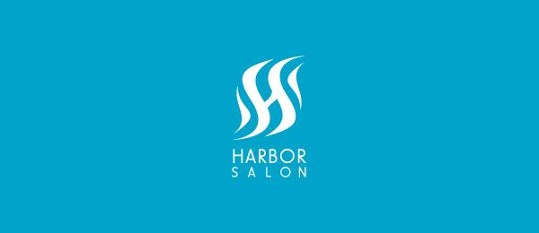 letter s logo design salon