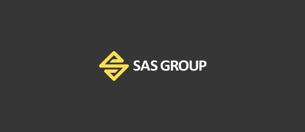 letter s logo design sas