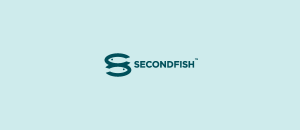 letter s logo design secondfish