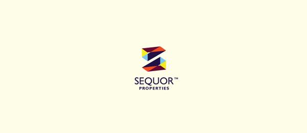 letter s logo design sequor