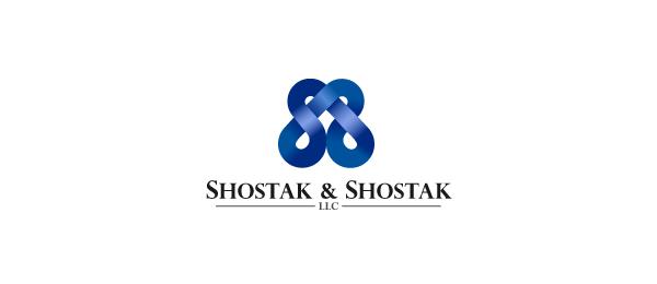 letter s logo design shostak shostak