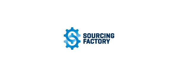letter s logo design sourcing factory