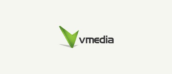 Letter V Logo Design Media