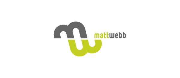 letter w logo design matt webb