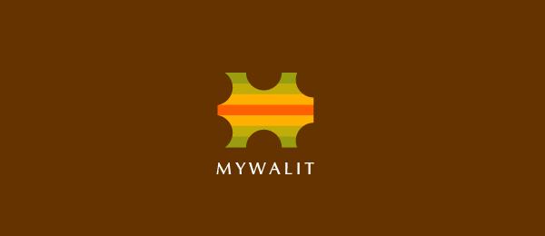 letter w logo design mywalit