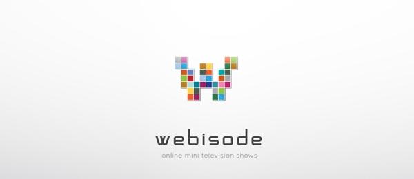 letter w logo design webisode