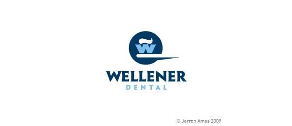 letter w logo design welener