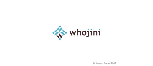 letter w logo design whojin