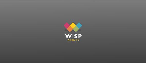 letter w logo design wisp agency