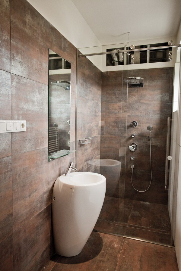100 small bathroom designs ideas hative for Lavabo salle de bain petit espace