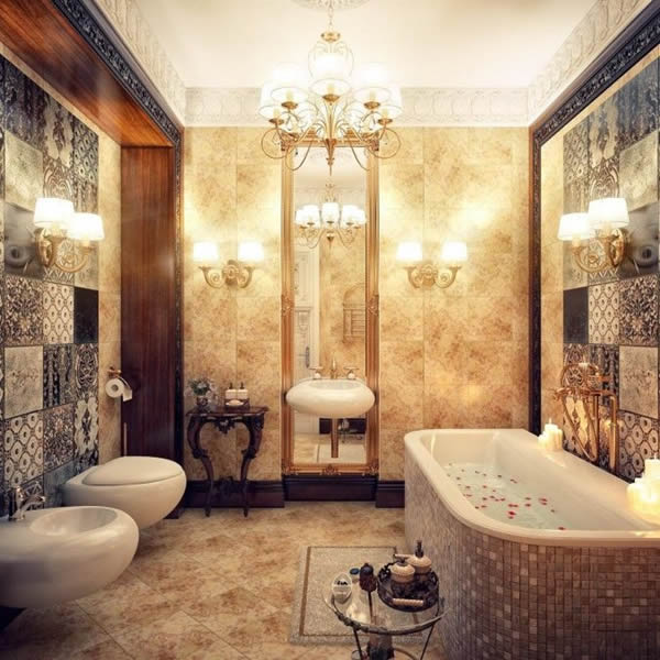 romantic bathroom idea for small bathroom 2552