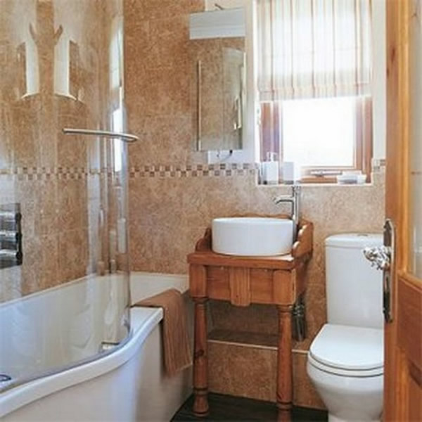 100 small bathroom designs ideas hative for Small baths for small bathrooms