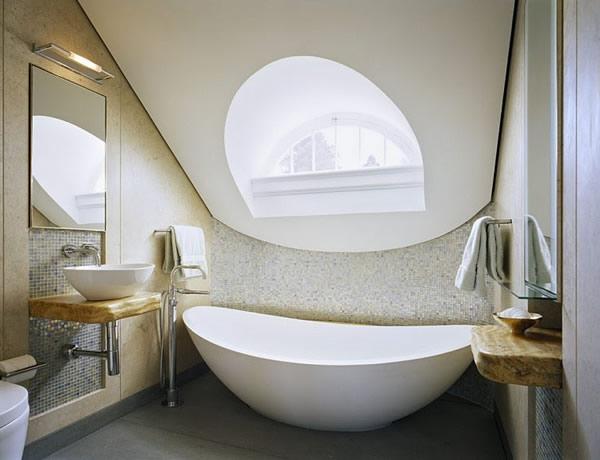 dark bathroom designs