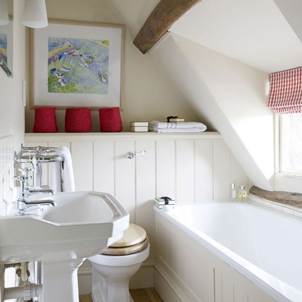 48 Small Bathroom Designs Ideas Hative Simple Attic Bathroom Designs Plans