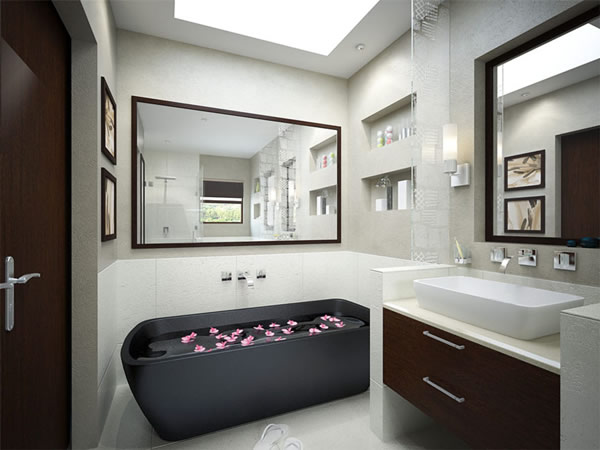 Charmant Small Bathroom Design For Men