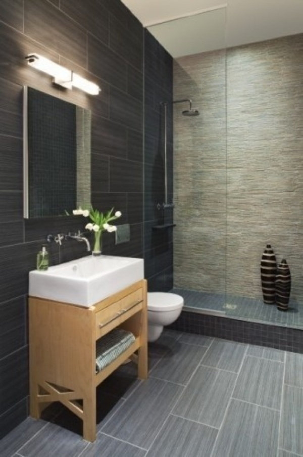 Ordinary Modern Ideas For Small Bathrooms Part - 5: Small Bathroom Design Photo