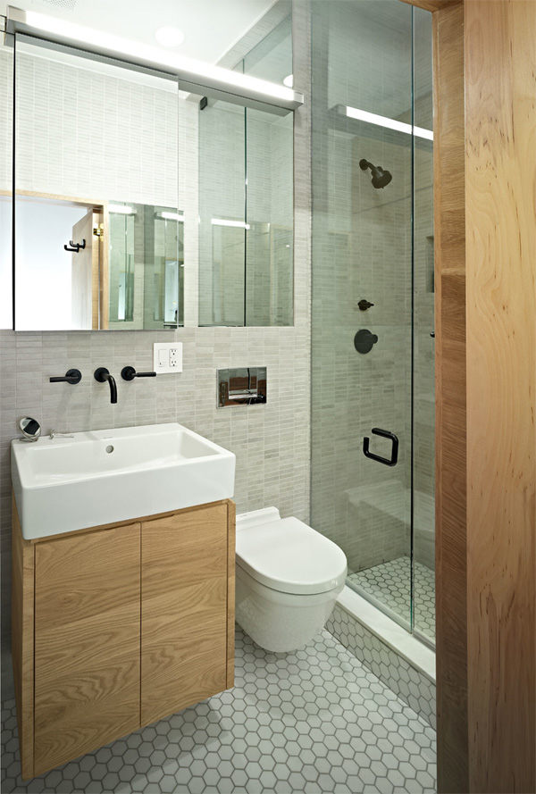 small bathroom design with shower room - Small Hotel Bathroom Design