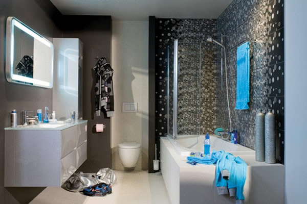 Small Bathroom Interior Decorating