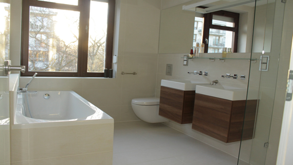 Small Contemporary Bathroom Design