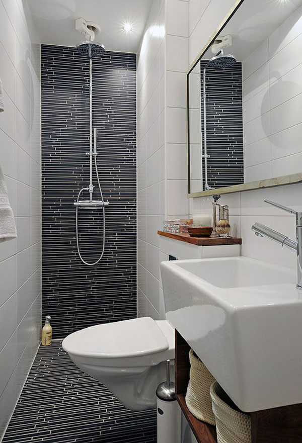 Awesome Tiny Contemporary Bathroom Design