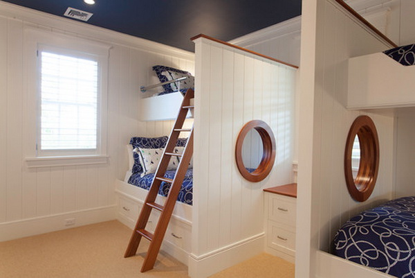traditional boys bedroom idea by chip webster architecture