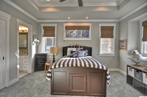 traditional kids bedroom design by luann development