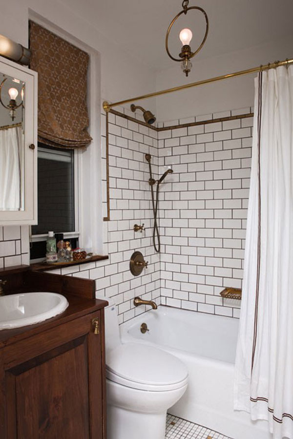 Bon Traditional Small Bathroom Design