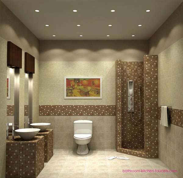 warm small bathroom 2566