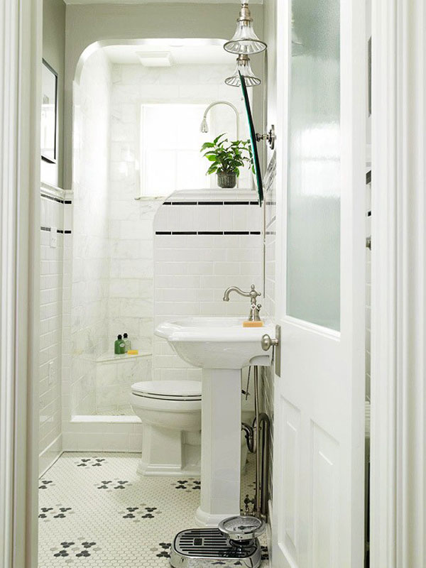 white compact bathroom design 2599