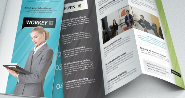corporate brochure template download