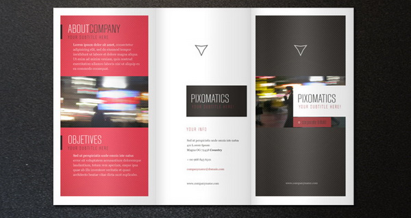 Free Brochure Templates For Download Hative - Foldable brochure template
